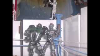 Real Steel Stop Motion!!!!