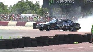 getlinkyoutube.com-Mercedes Drift S 600 V12 Amon Oliver