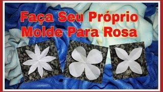getlinkyoutube.com-COMO FAZER SEU MOLDE DE ROSAS PARA E.V.A.