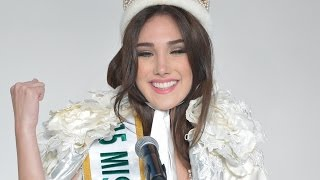 getlinkyoutube.com-2015ミス・インターナショナル ベネズエラ代表が女王に!「私やったわ!」 #Miss International #Edima Martinez