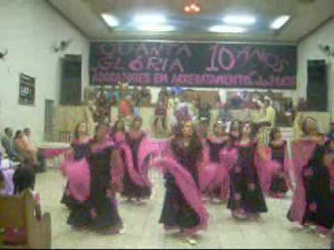 Grupo de Coreografia Evangelica Quanta Gloria - Apocalipse Damares