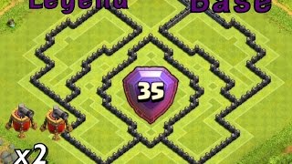 getlinkyoutube.com-Clash Of Clans - TH10 TROPHY BASE [LEGEND LEAGUE BASE]