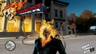 getlinkyoutube.com-GTA IV LCPDFR Ghost Rider Police Patrol - Episode 1 - New Hero in Liberty City!