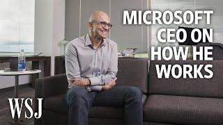 Microsoft CEO Satya Nadella: How I Work width=