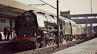 getlinkyoutube.com-46233 'Duchess of Sutherland' | 'The Cathedrals Express' | 01.12.2016