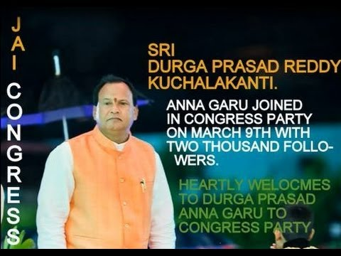 Jai congress - Sri Durga Prasad Reddy