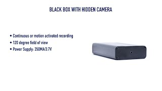 getlinkyoutube.com-Black Box WiFi Hidden Camera from GadgetsAndGear.com