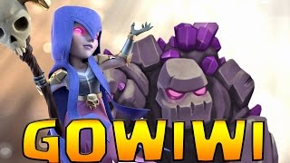getlinkyoutube.com-GOWIWI HOGS TH9 3 Star Attack Strategy ft. Bomb Tower | Reddit Pirates | Clash of Clans