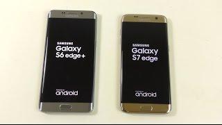 getlinkyoutube.com-Samsung Galaxy S6 Edge+ Android 6.0.1 vs Galaxy S7 Edge - Speed Test!