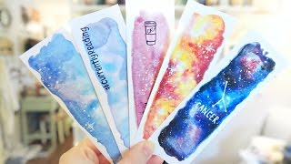 getlinkyoutube.com-More Watercolor Bookmarks!