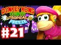 Donkey Kong Country: Tropical Freeze - Gameplay Walkthrough Part 21 - World 5: Fruity Factory 100%
