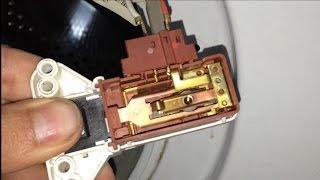 getlinkyoutube.com-Anular-Puentear blocapuertas lavadora. [Cancel-bypass door lock of Washing machines]