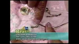 getlinkyoutube.com-Bordado | Toalha de Lavabo bordada