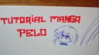 getlinkyoutube.com-Dibujando Manga con Shukei #4: Pelo femenino y masculino
