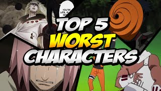 Naruto Ultimate Ninja Storm Revolution - Top 5 Worst Characters w/ Commentary