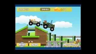 getlinkyoutube.com-Joaca Tom si Jerry cu tractorul - jocuri cu tractoare online