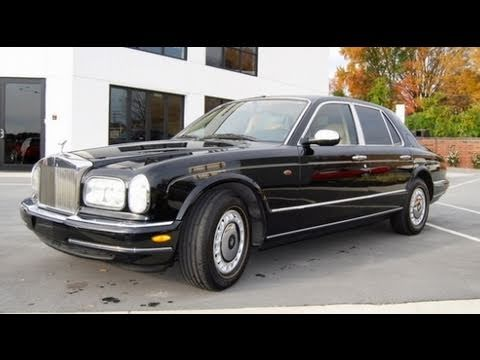 1999 Rolls Royce Silver Seraph Start Up, Engine, and In Depth Tour