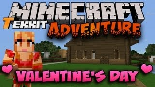 getlinkyoutube.com-Minecraft Tekkit [Valentine's Day Special] - Princess Valentine!