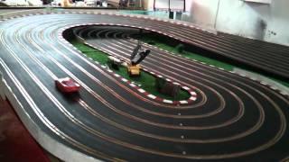 getlinkyoutube.com-Carrera Evolution - Cars 2 Lightning McQueen, Francesco Bernoulli