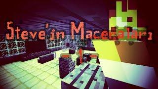 getlinkyoutube.com-STEVE'İN MACERALARI #1!! | Minecraft Haritaları