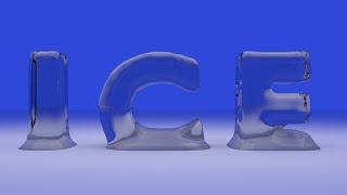 getlinkyoutube.com-Blender : Buz efektli yazı yazma