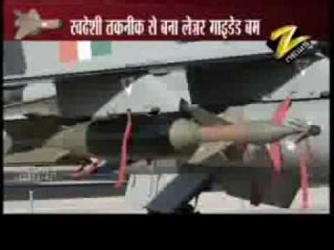 India's first laser guided bomb - Sudarshan