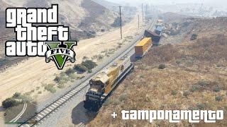 getlinkyoutube.com-GTA V - Come far deragliare il treno!