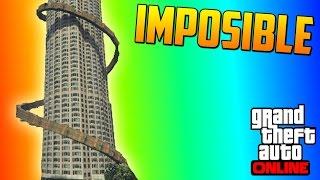 100% IMPOSIBLE!! O NO... O SI... - Gameplay GTA 5 Online Funny Moments (Carrera GTA V PS4)