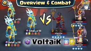 getlinkyoutube.com-VoltaiK [Legend, Thunder] - Review & Combat - Monster Legends