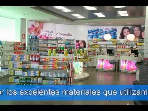 Decofarma +DF  Muebles de farmacias