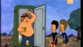 getlinkyoutube.com-Beavis and Butthead take a Dump