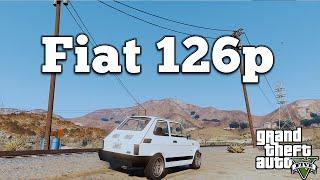 getlinkyoutube.com-Grand Theft Auto V PC Mods - Fiat 126p Maluch [DOWNLOAD][GTA V PC]