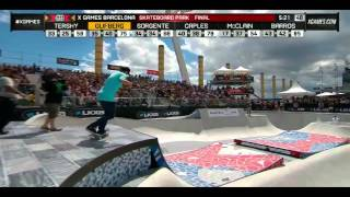 getlinkyoutube.com-X Games Barcelona 2013 Skatepark Finals