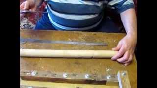 getlinkyoutube.com-Часть 4. Архимедова лопата (сгибание кронштейна). Сделай сам.