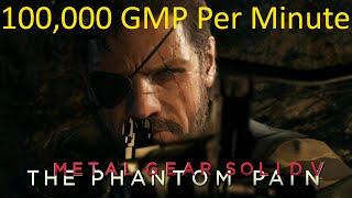 getlinkyoutube.com-Metal Gear Solid 5 Phantom Pain: Easy 100,000 GMP Per Minute