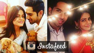 getlinkyoutube.com-Ankit Bathla & Jigyasa Singh's Cute &  Romantic Instagram Pictures | InstaFeed