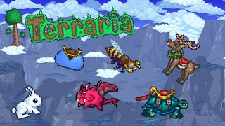 Terraria iOS/Android 1.2.4 - How To Get All The Mounts Terraria