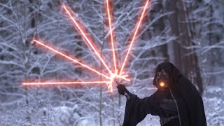 getlinkyoutube.com-Star Wars: Modern Lightsaber Battle