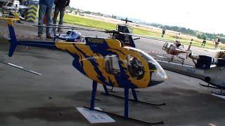 getlinkyoutube.com-Huge MD Scale R/C Helicopter Roban MD500E Swiss Heli Challenge 2015