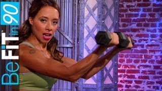 getlinkyoutube.com-Butt, Legs & Chest Workout by BeFit in 90