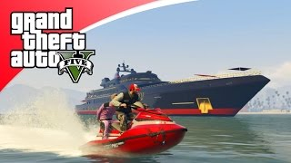 getlinkyoutube.com-GTA V Freeroam - JACHT OVERVALLEN! (GTA 5 Online)