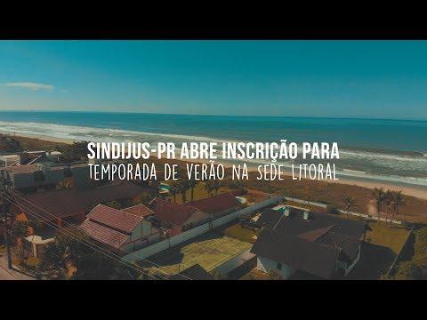 Sindijus-PR abre inscrição para temporada de verão na Sede Litoral dia 1º de outubro