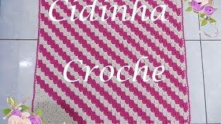 Croche- Aprenda A Fazer A Técna C2C- Passo A Passo- Parte 1/3