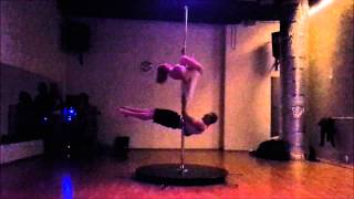 Thinking out loud- couple pole dance