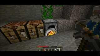 getlinkyoutube.com-MineCraft Izdzīvošana Sērija 1: Taisam Jaunās Mājas!!!