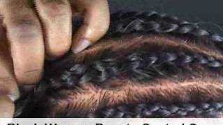 getlinkyoutube.com-How To Do Cornrow Braids - Learn how to to this simple braiding technique.