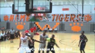 getlinkyoutube.com-MaCio Teague AAU Summer 2014 17U All Ohio Red