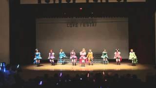 getlinkyoutube.com-Lovelive! - kira kira sensation / cosplay dance cover Lovefesta!