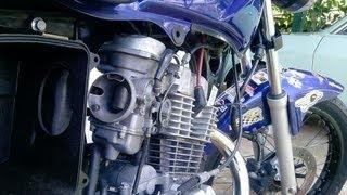 getlinkyoutube.com-Cg 150 245cc com Carburador de Falcon 400cc