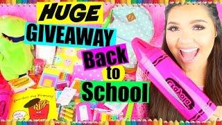 getlinkyoutube.com-Huge Back to School Supplies Haul + Giveaway   Over $150 Worth! CLOSED